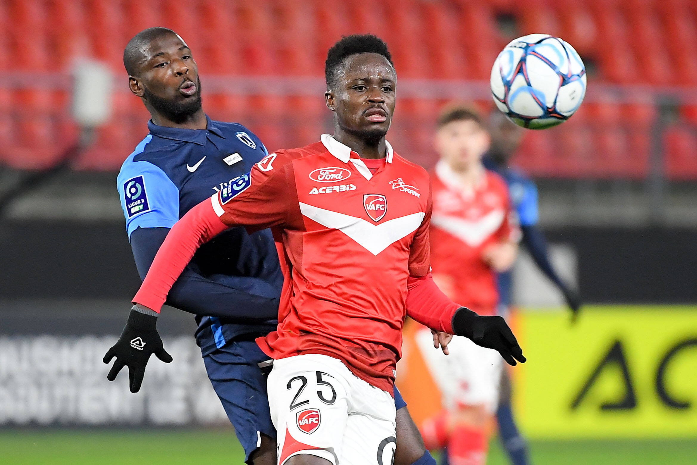 Emmanuel Ntim believes Valenciennes players are ready for Dijon clash in Ligue 2