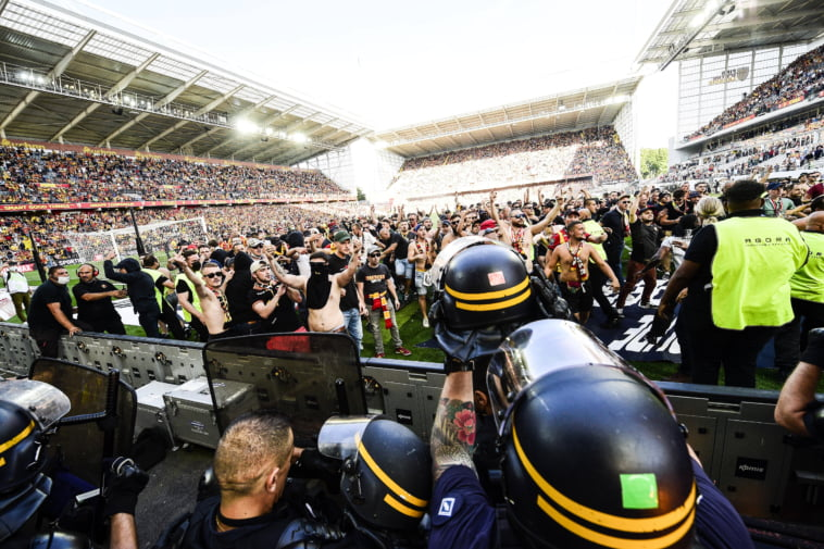 RC Lens LOSC supporters incidents
